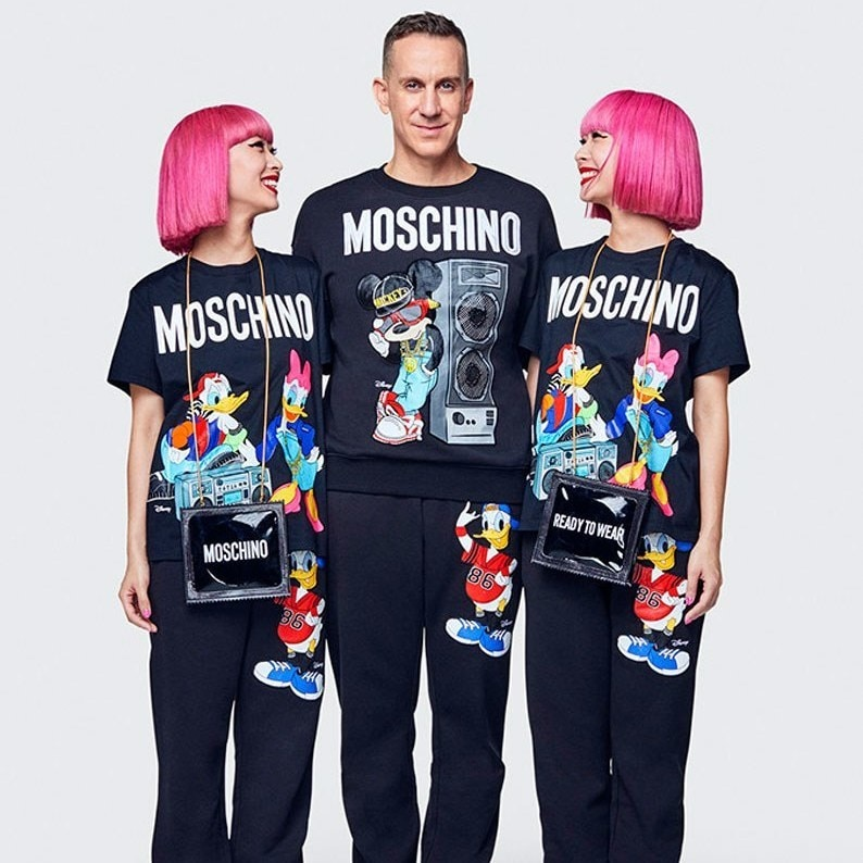 H&M's Newest Capsule Collection With Moschino Will Include Disney Style