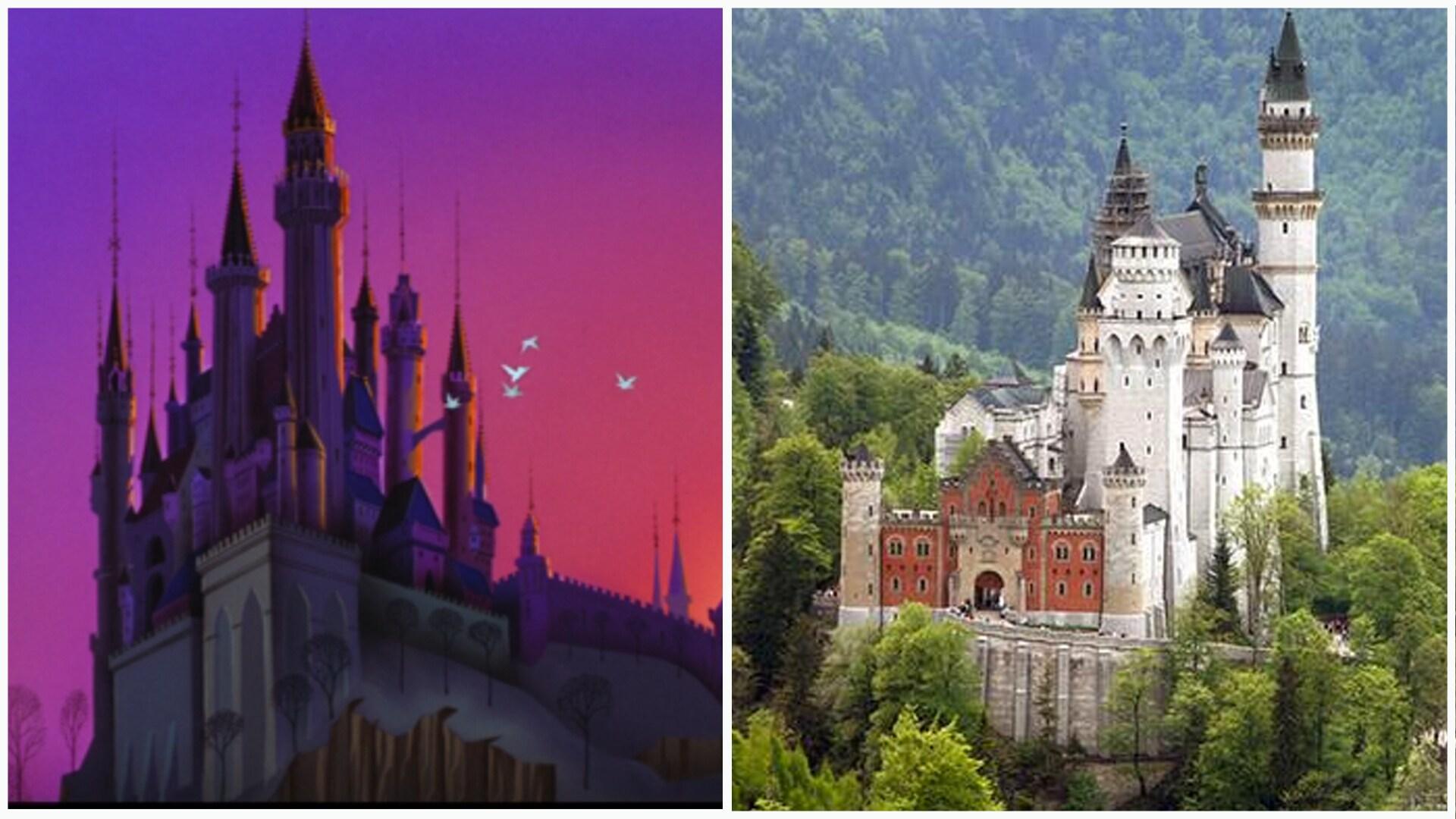 A Bela Adormecida - Castelo de Neuschwanstein, Alemanha