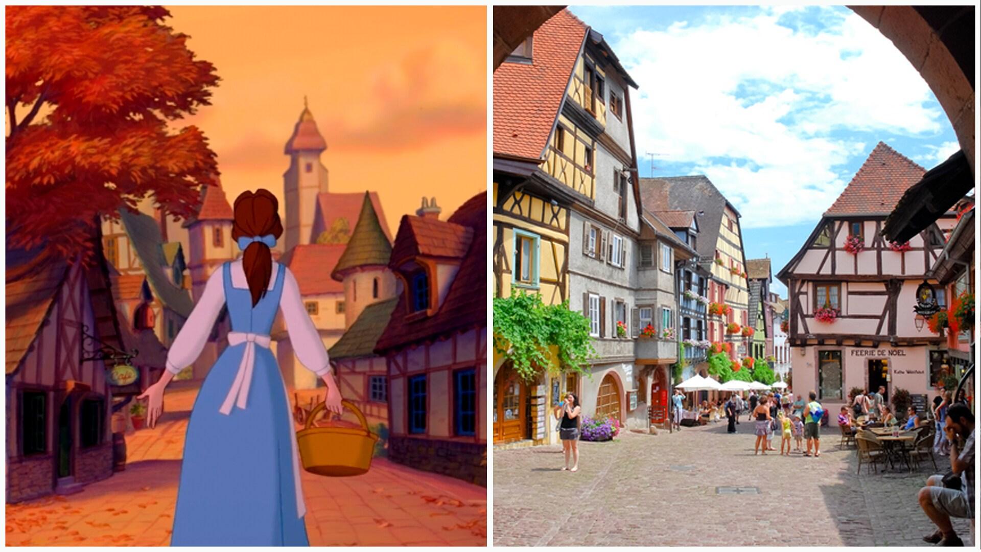 A Bela e a Fera - Riquewihr, França