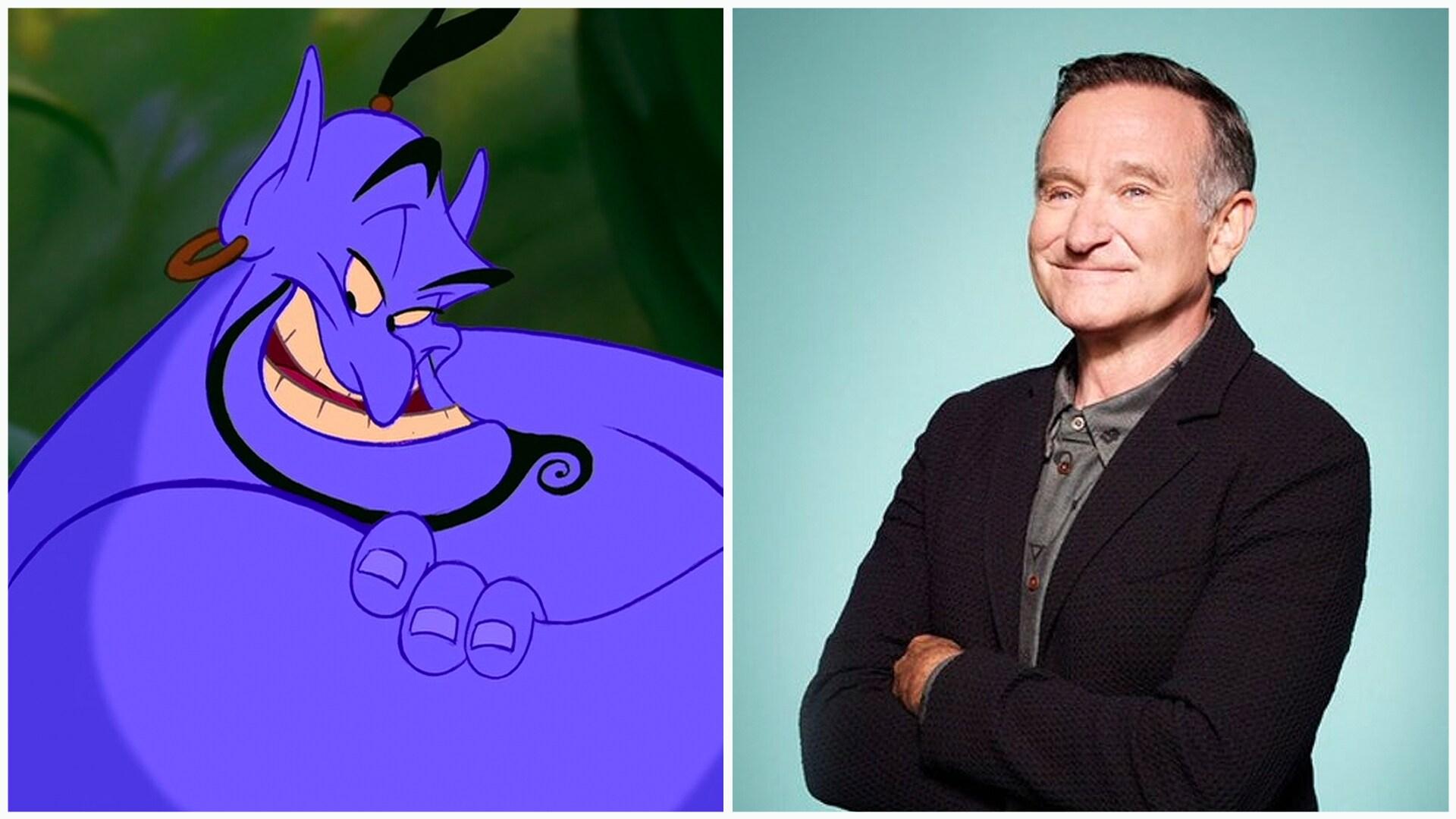 Gênio e Robin Williams