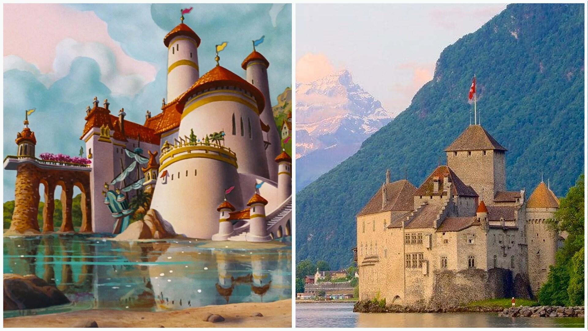 A Pequena Sereia - Castelo de Chillon, Suíça