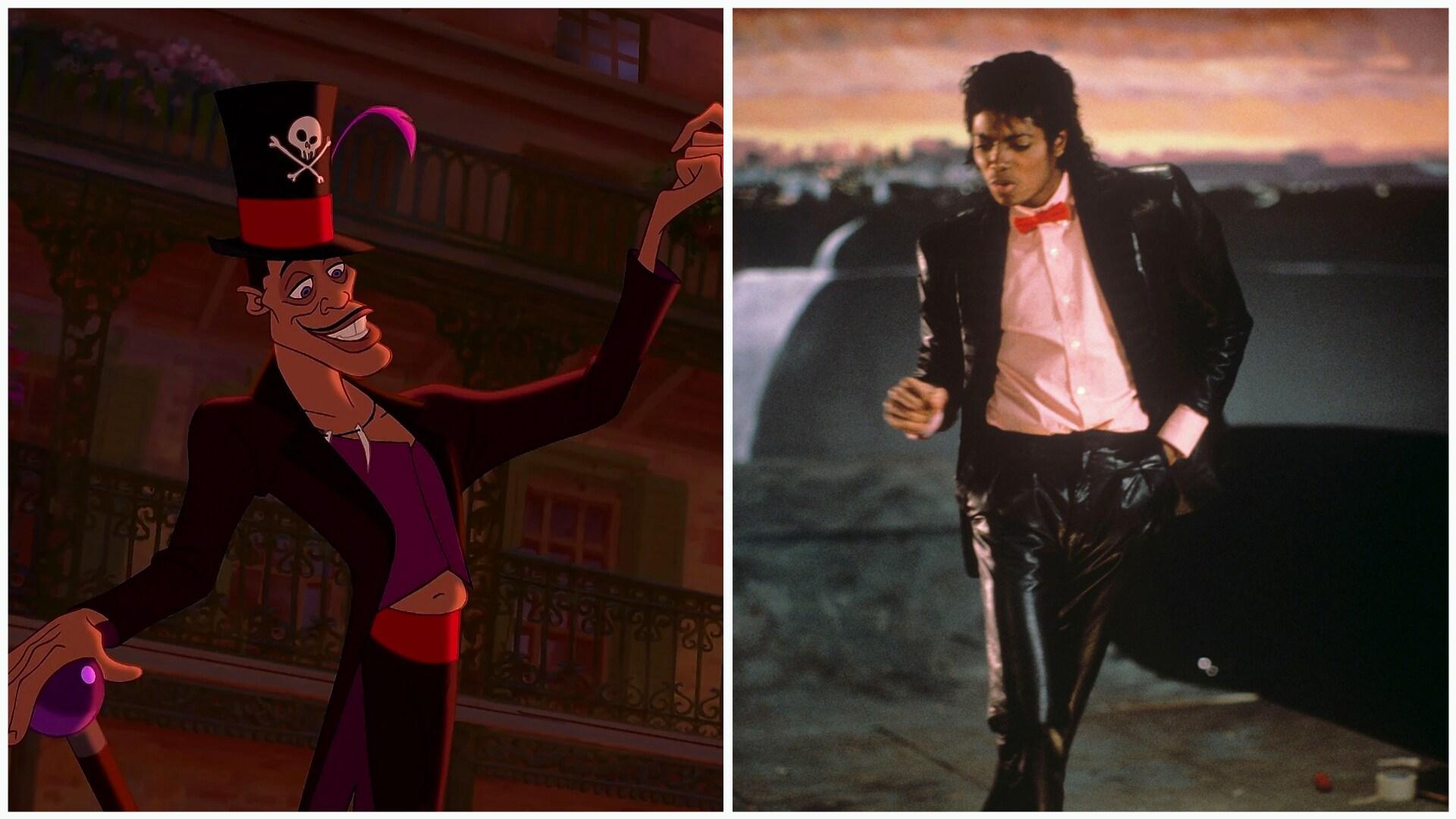 Dr. Facilier e Michael Jackson