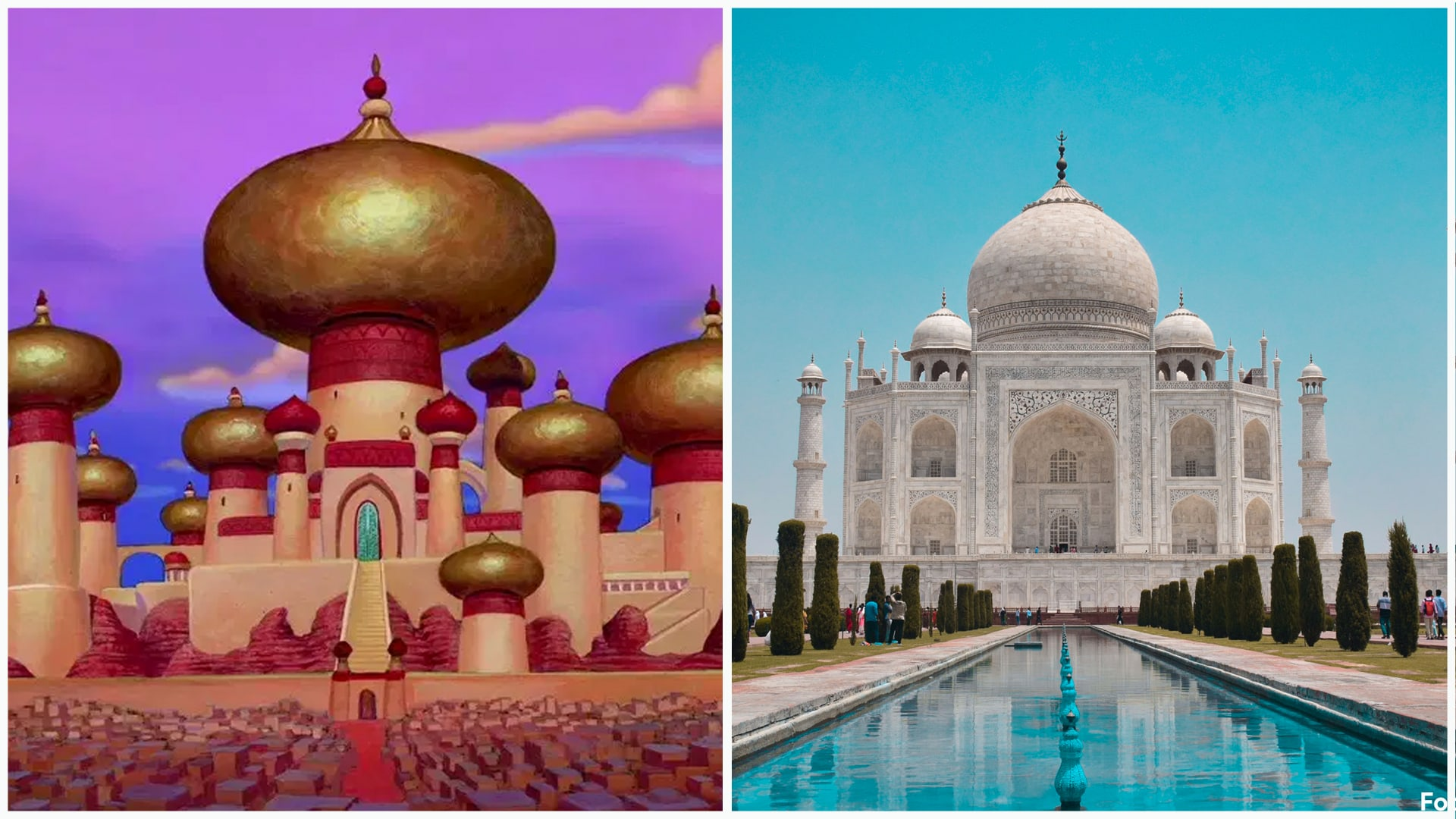 Aladdin - Taj Mahal, Índia