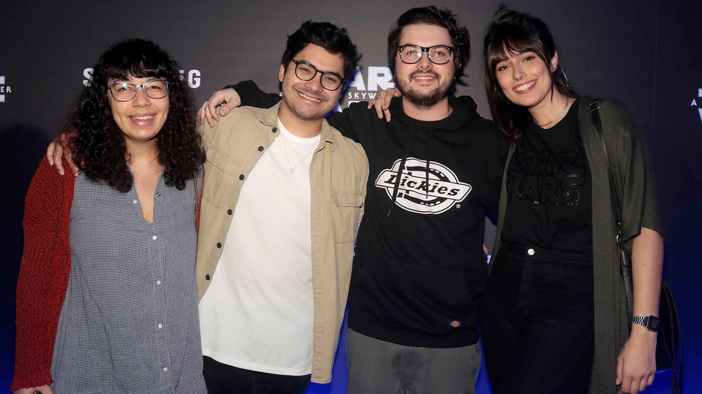 Pati Lima, Koba, Pedro Lanza e Anie