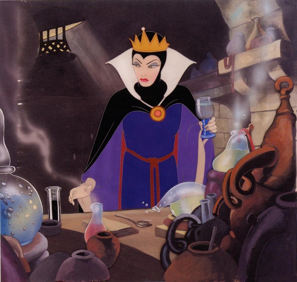 Rainha Má de Branca de Neve e os Sete Anões