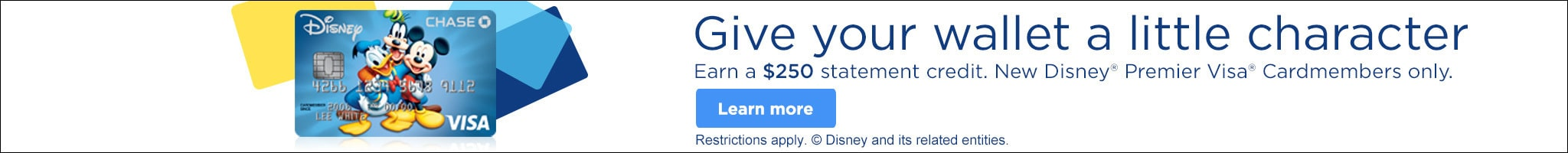 Learn More About Disney Premier Visa
