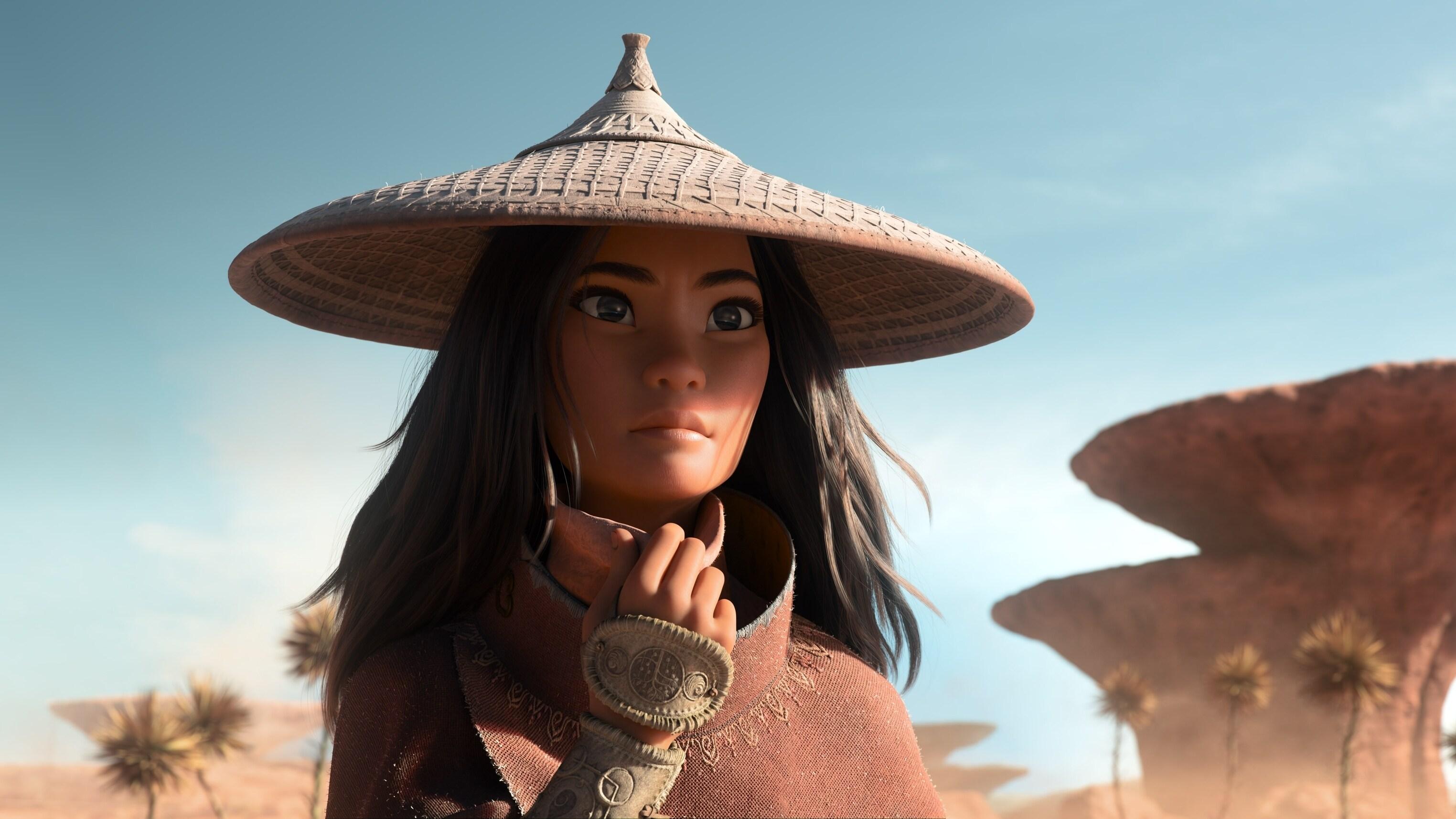 Karakter Raya (Dok. Disney)