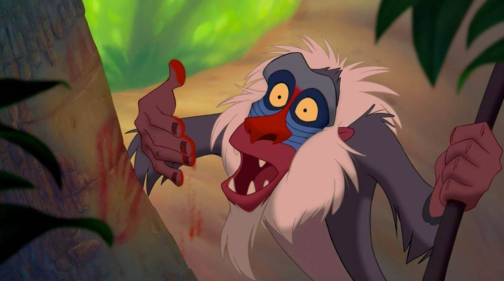 """Rafiki from the animated movie """"The Lion King"""""""