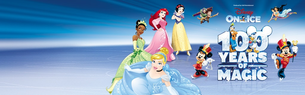 UK - Homepage - Disney On Ice 100 Years Of Magic (Hero)
