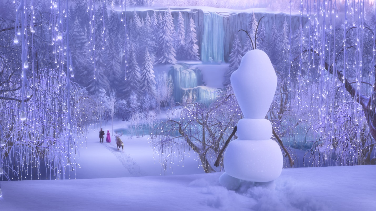 ONCE UPON A SNOWMAN - The previously untold origins of Olaf, the innocent and insightful, summer-loving snowman who melted hearts in the Academy Award®-winning 2013 Disney animated feature, Frozen, and its acclaimed 2019 sequel, are revealed in the all-new