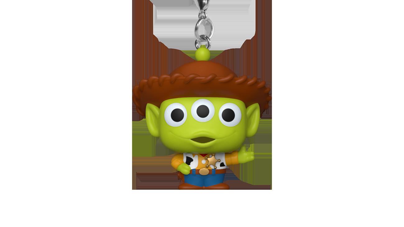 Pixar - Alien as Woody - Keychain