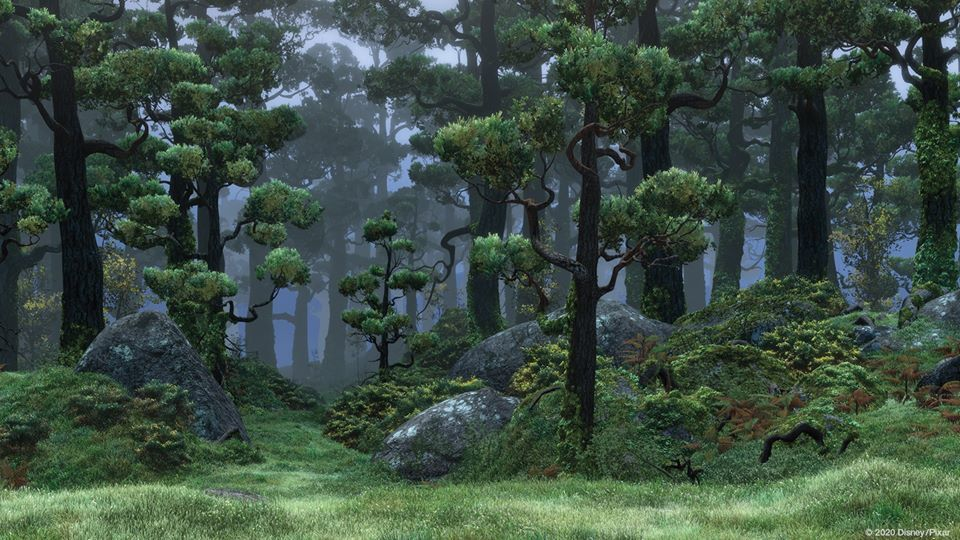 Floresta de DunBroch em Valente