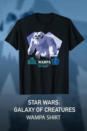 Star Wars Galaxy of Creatures Wampa Mammal T-Shirt