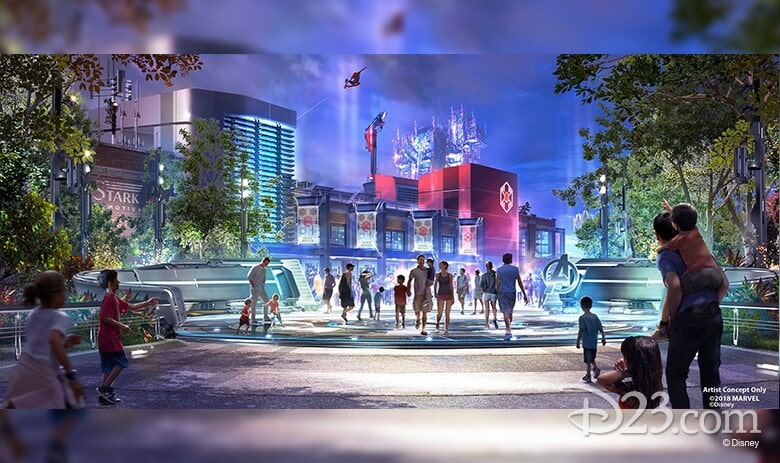 Artist Concept D23.com copyright disney - Imagining tomorrow, today pavilion design concept