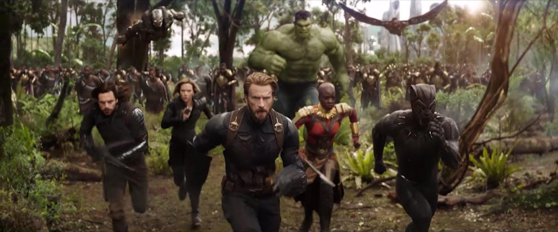 Avengers Infinity War Teaser Trailer