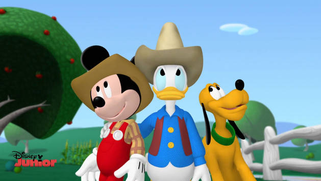 Mickey and Donald Have A Farm Song
