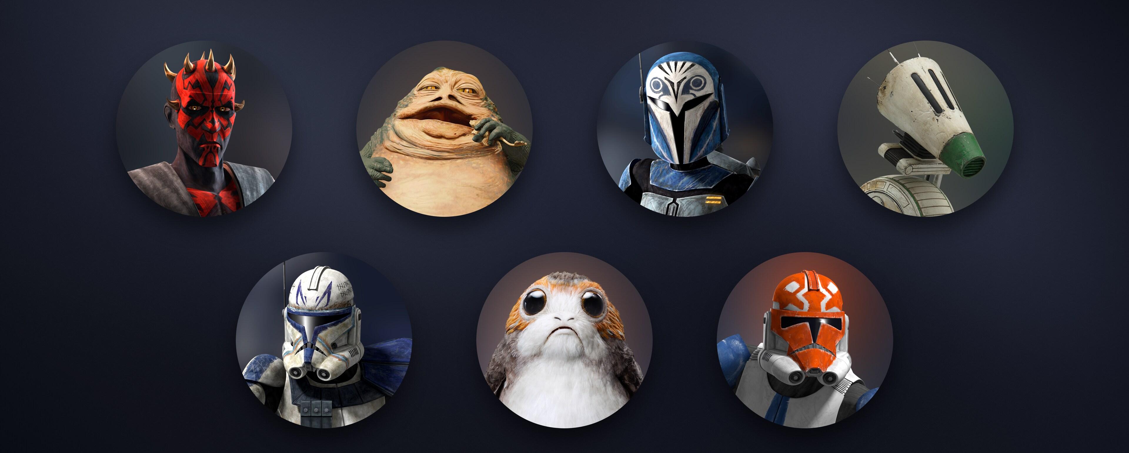 Star Wars new avatars on disney+