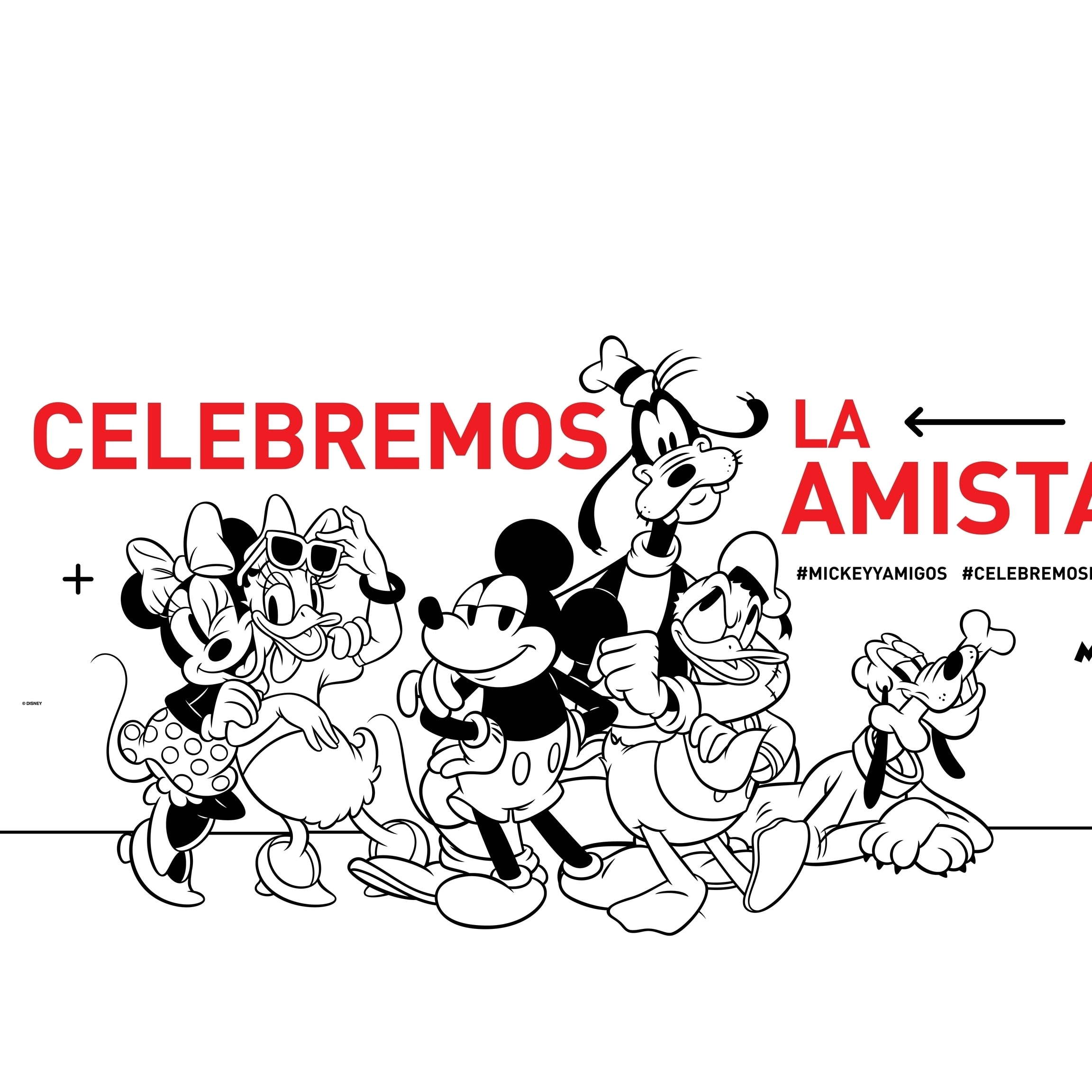 Mickey y Amigos - Celebremos la amistad