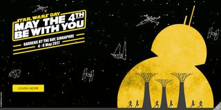 STAR WARS DAY: MAY THE 4TH BE WITH YOU FESTIVAL | 4 – 6 May