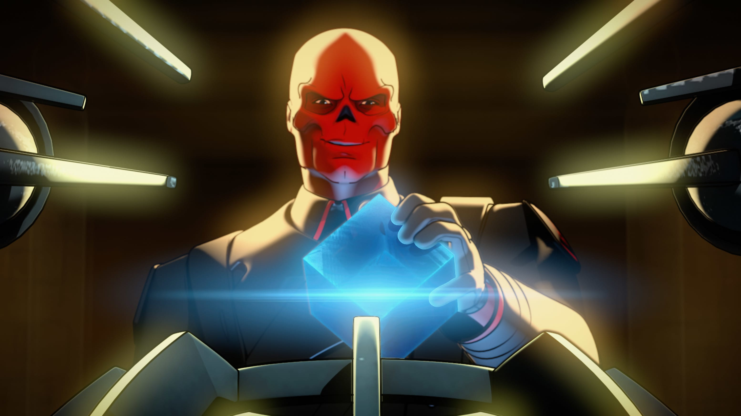 Red Skull in Marvel Studios' WHAT IF…? exclusively on Disney+. ©Marvel Studios 2021. All Rights Reserved.