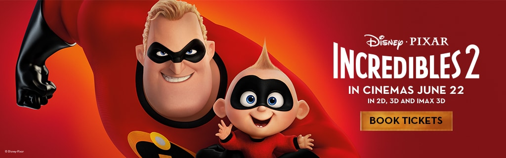 Incredibles 2 - Hero Banner