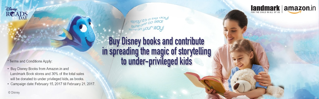 Disney Reads Day Campaign - Feb 2017