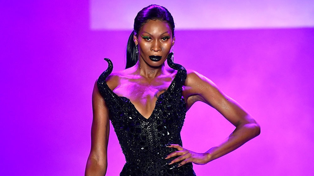 Disney Villains Models at the New York Fashion Week