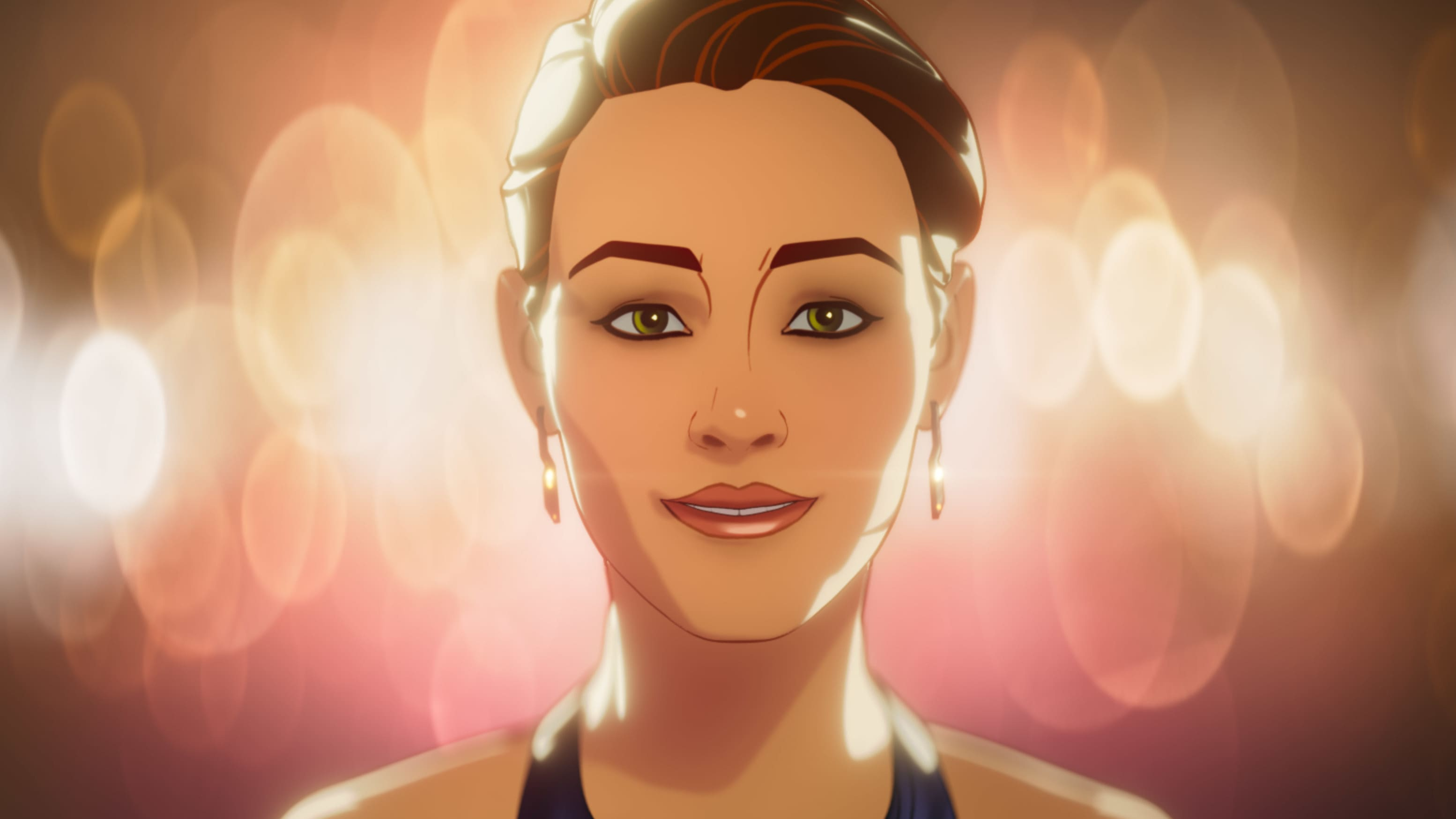 Christine Palmer in Marvel Studios' WHAT IF…? exclusively on Disney+. ©Marvel Studios 2021. All Rights Reserved.
