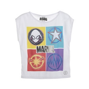 Playera Marvel para niña