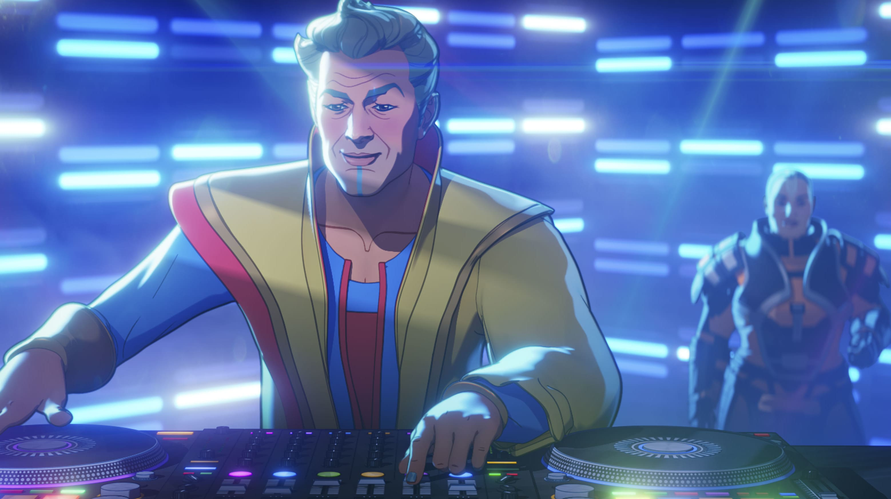 Grandmaster in Marvel Studios' WHAT IF…? exclusively on Disney+. ©Marvel Studios 2021. All Rights Reserved.