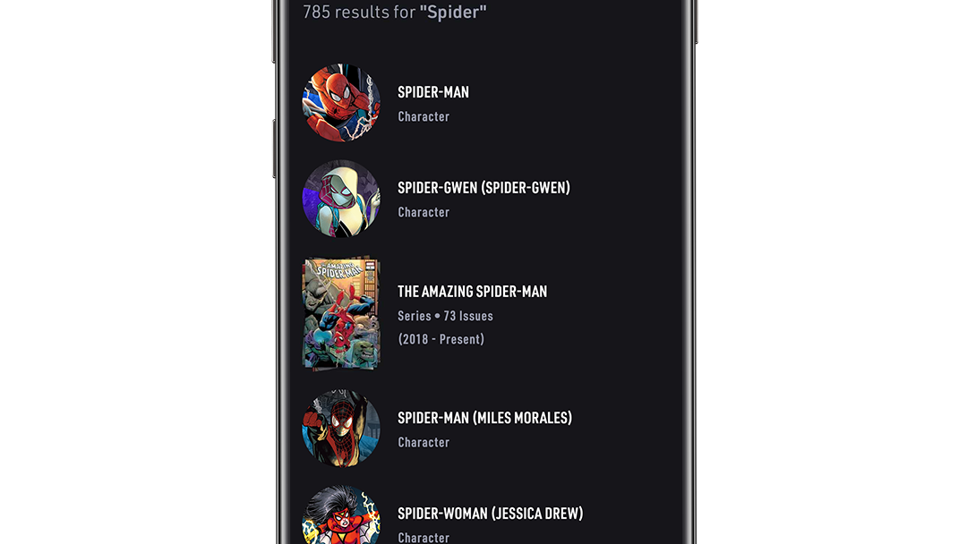 Search Spider App Screen Image