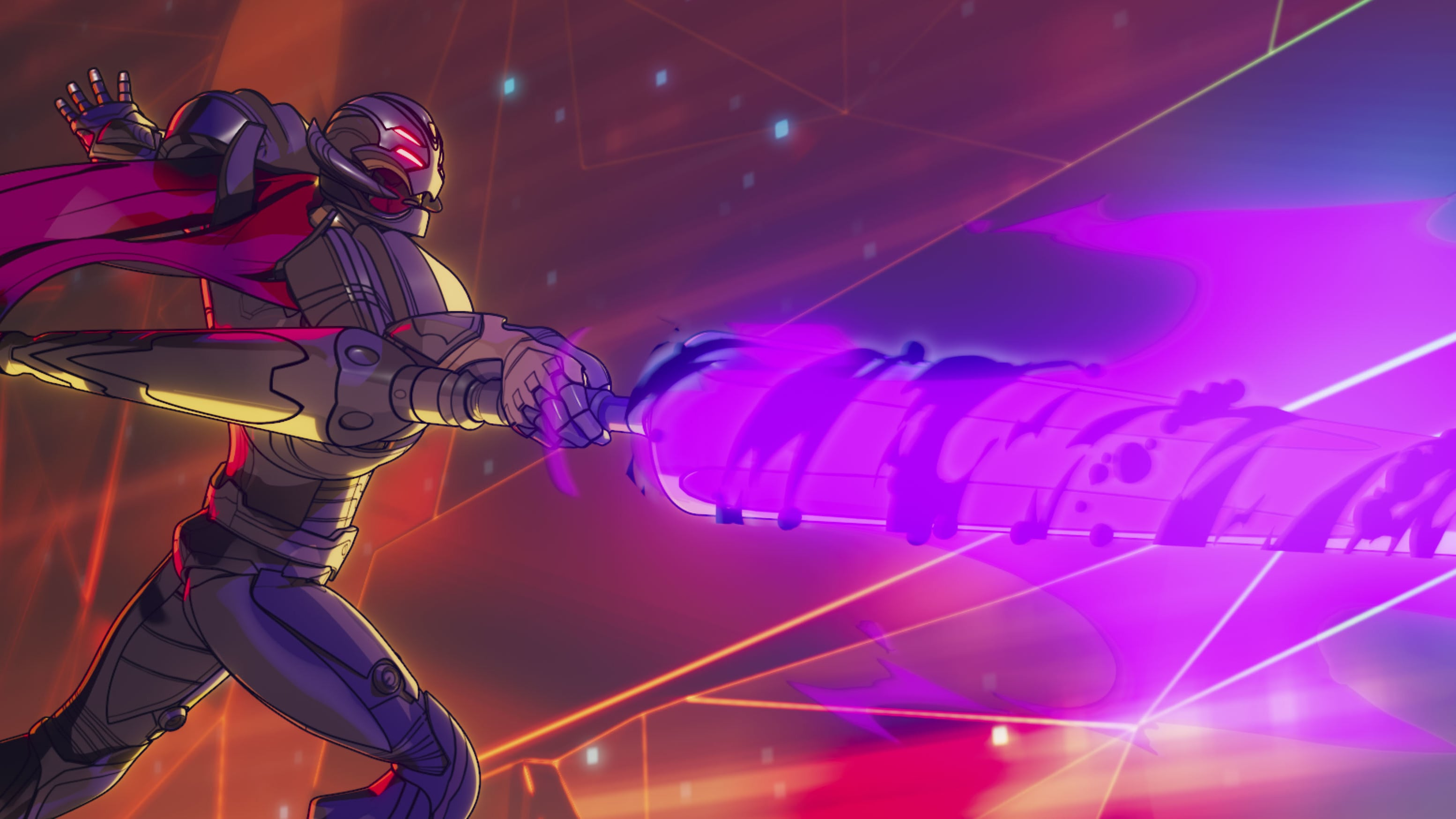 Infinity Ultron in Marvel Studios'  WHAT IF...? exclusively on Disney+. ©Marvel Studios 2021. All Rights Reserved.