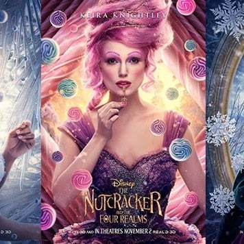9 Magnificent Character Posters From The Nutcracker and the Four Realms
