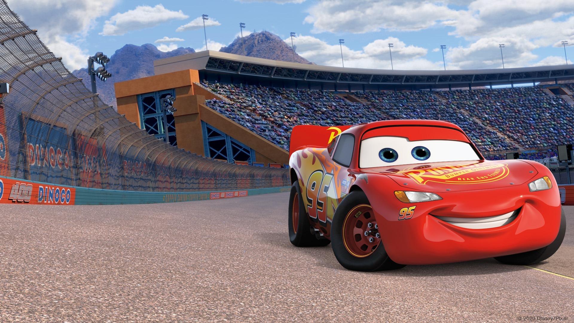 Relâmpago McQueen em Carros 3