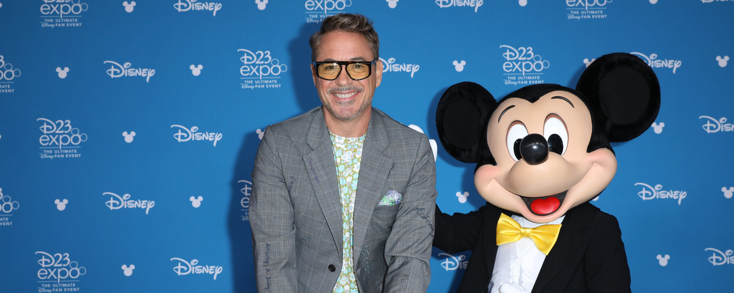Robert Downey Jr. and Mickey