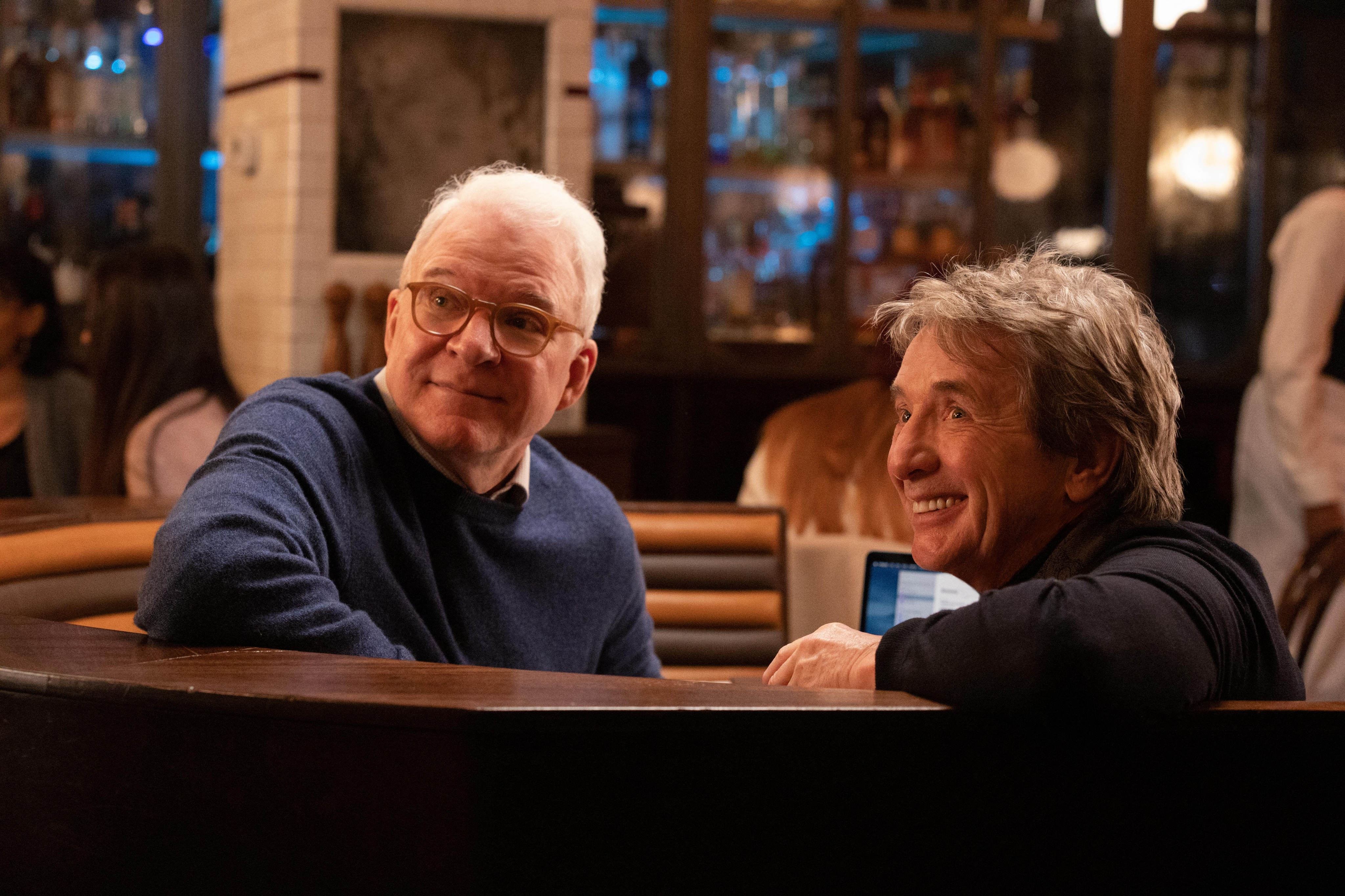 Steve Martin and Martin Short in Only Murders in the Building on Disney Plus