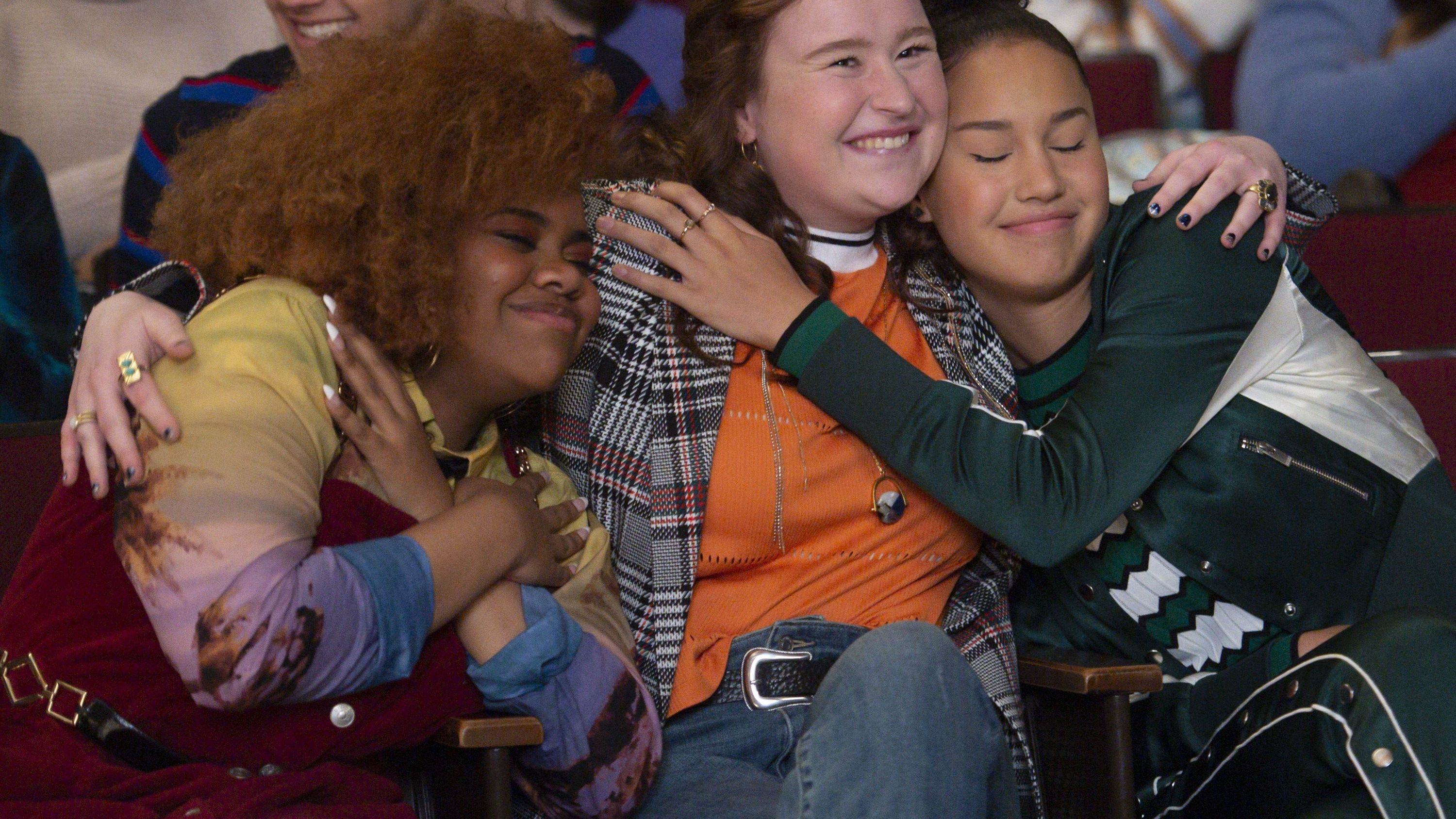 """HIGH SCHOOL MUSICAL: THE MUSICAL: THE SERIES - """"Typecasting"""" (Disney+/Fred Hayes) DARA RENEÉ, JULIA LESTER, SOFIA WYLIE"""