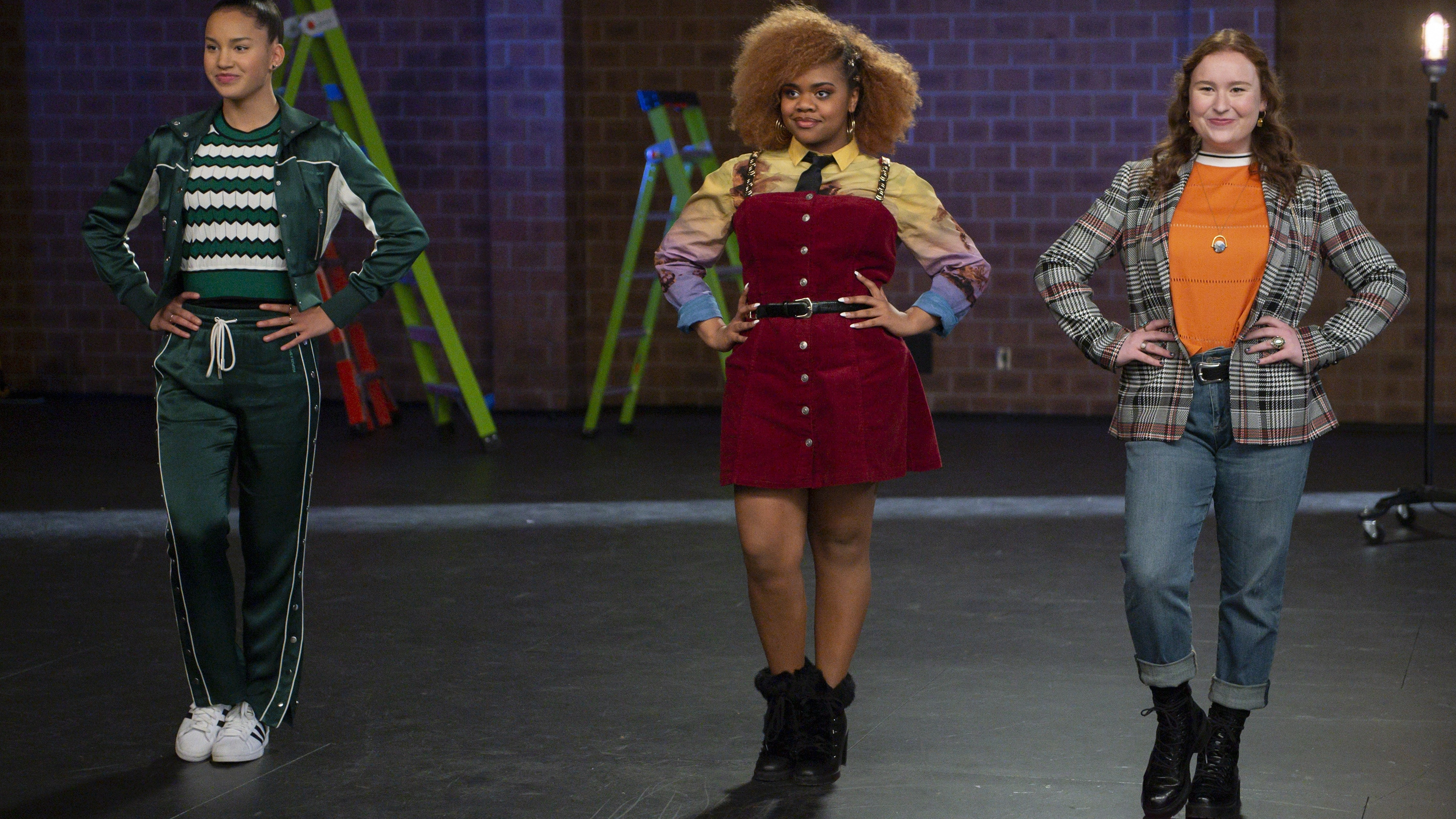 """HIGH SCHOOL MUSICAL: THE MUSICAL: THE SERIES - """"Typecasting"""" (Disney+/Fred Hayes) SOFIA WYLIE, DARA RENEÉ, JULIA LESTER"""