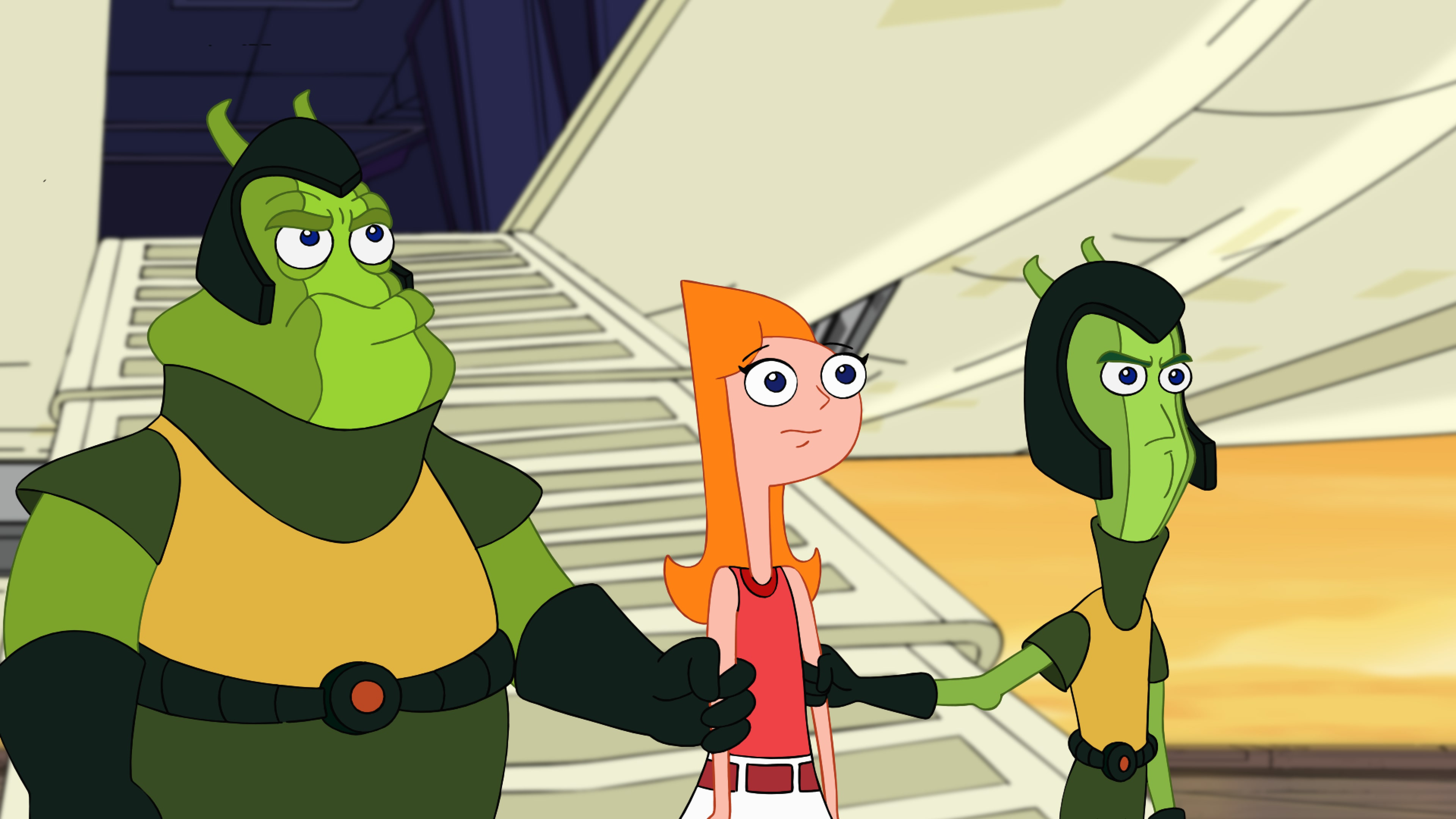 """PHINEAS AND FERB THE MOVIE: CANDACE AGAINST THE UNIVERSE - Executive-produced by the creators/executive producers of the Emmy Award-winning """"Phineas and Ferb"""" series, Dan Povenmire and Jeff """"Swampy"""" Marsh, """"Phineas and Ferb The Movie: Candace Against the Universe"""" is an adventure story that tracks stepbrothers Phineas and Ferb as they set out across the galaxy to rescue their older sister Candace, who after being abducted by aliens, finds utopia in a far-off planet, free of pesky little brothers. (Disney+)"""