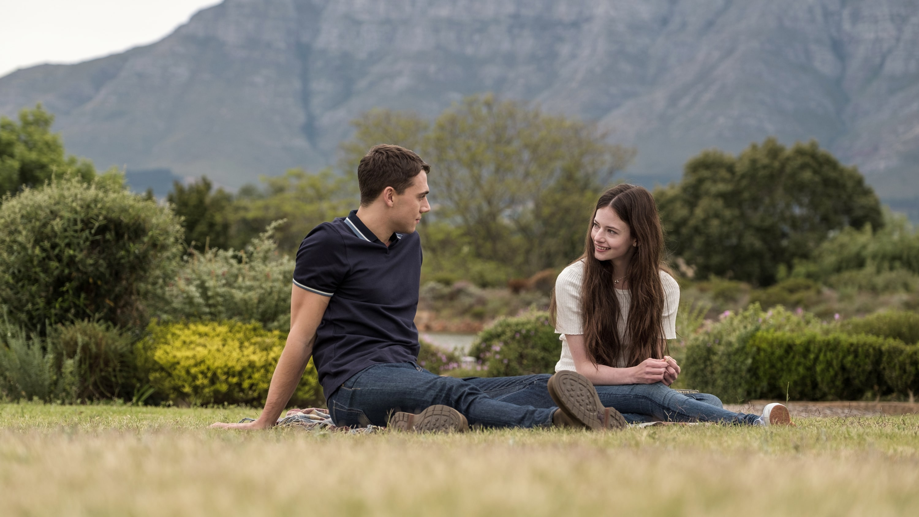 BLACK BEAUTY - A wild horse and a teenage girl forge an unbreakable bond which keeps them connected for a lifetime. (Disney/Graham Bartholomew) CALAM LYNCH, MACKENZIE FOY