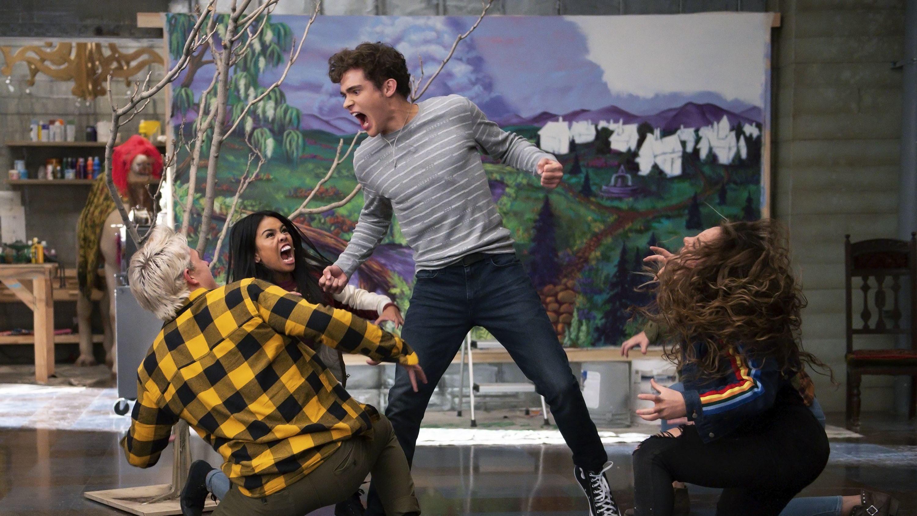 """HIGH SCHOOL MUSICAL: THE MUSICAL: THE SERIES - """"The Quinceañero"""" (Disney/Fred Hayes) JOSHUA BASSETT"""