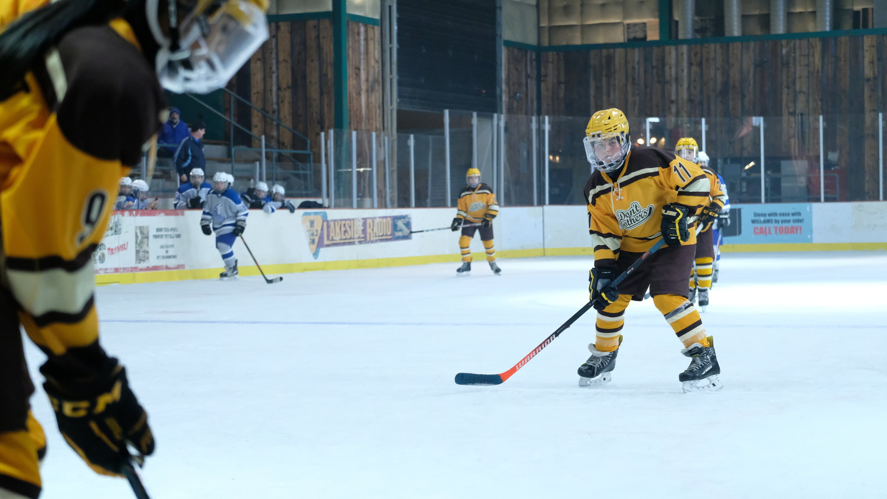 """THE MIGHTY DUCKS: GAME CHANGERS - """"Change on the Fly"""" - With the State Tournament on the horizon, Alex realizes she likes winning more than she thought. (Disney/Liane Hentscher) BRADY NOON"""
