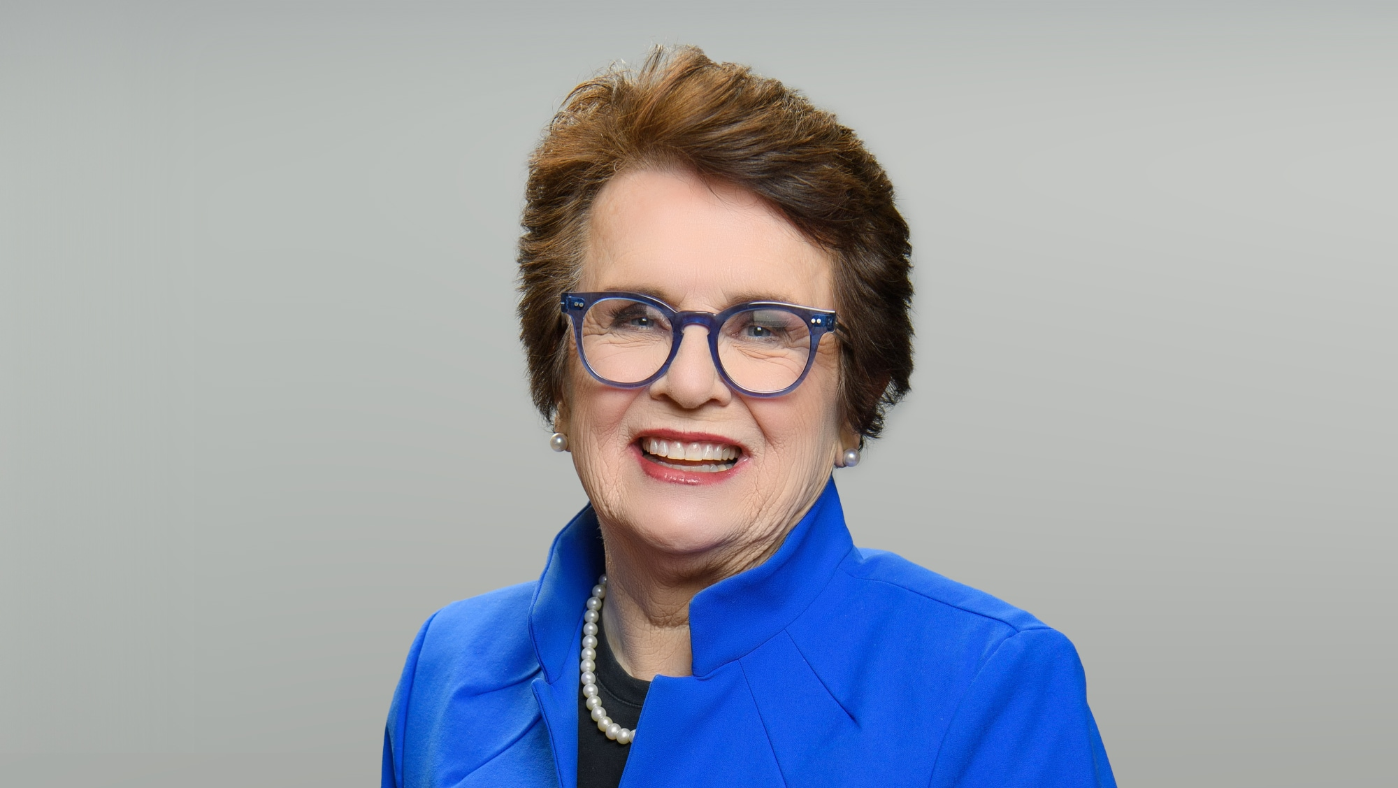 """TURNING THE TABLES WITH ROBIN ROBERTS - """"Episode 103"""" - Billie Jean King, Jamie Lee Curtis, Mickey Guyton. (Disney/Richard Harbaugh) BILLIE JEAN KING"""