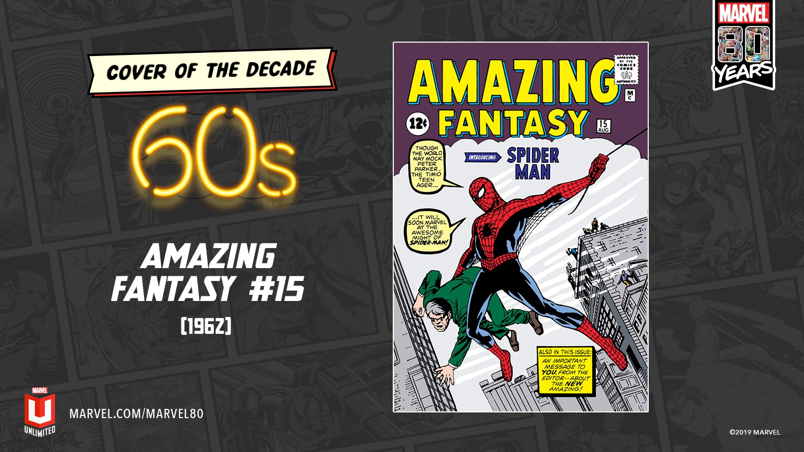 Marvel Comics 1960s Cover Of The Decade