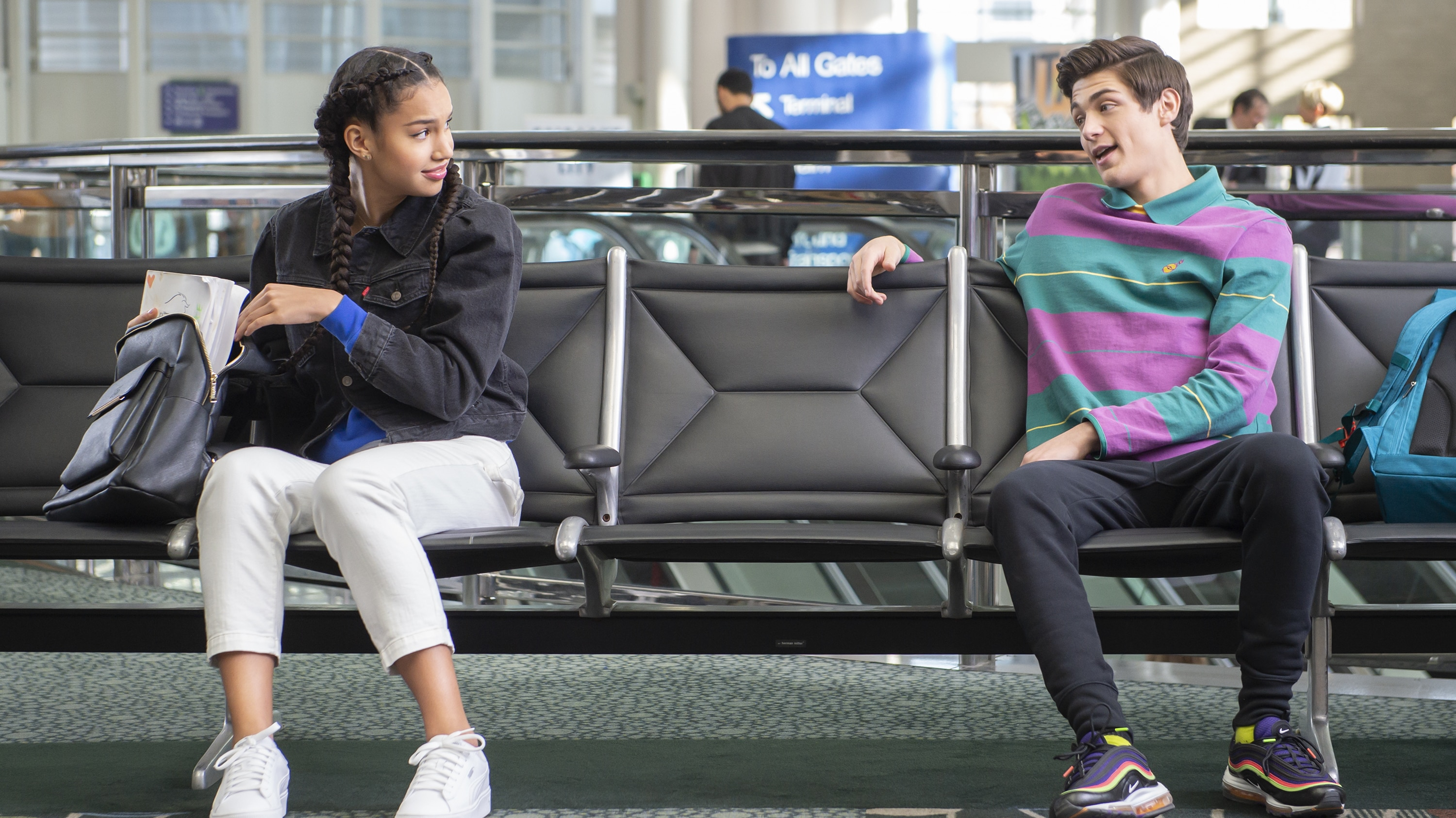 """HIGH SCHOOL MUSICAL: THE MUSICAL: THE SERIES - """"Spring Break"""" (Disney/Fred Hayes) SOFIA WYLIE, ASHER ANGEL"""