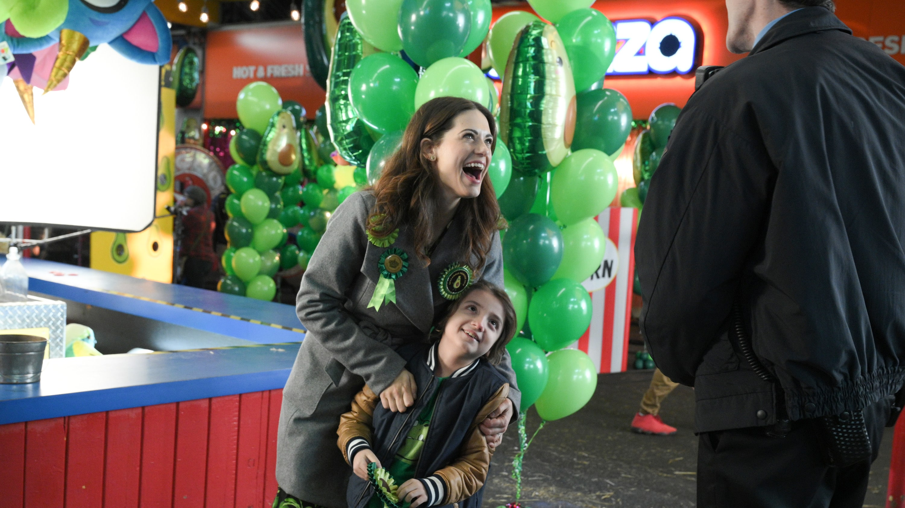 """TURNER & HOOCH - """"To Serve and Pawtect"""" (Disney/Eric Milner) LYNDSY FONSECA, JEREMY MAGUIRE"""