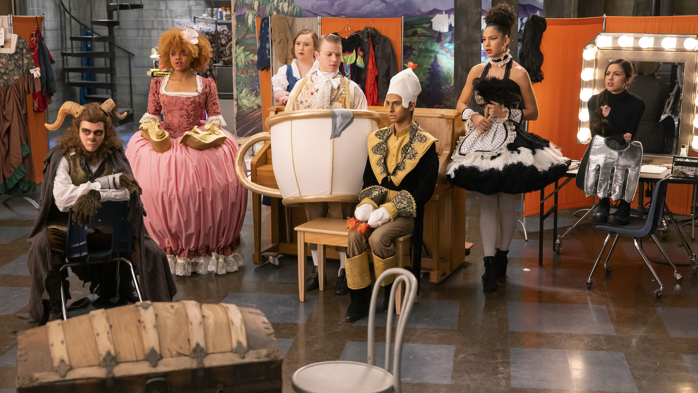 "HIGH SCHOOL MUSICAL: THE MUSICAL: THE SERIES - ""Showtime"" (Disney/Fred Hayes) JOSHUA BASSETT, DARA RENEÉ, JULIA LESTER, JOE SERAFINI, FRANKIE A. RODRIGUEZ, SOFIA WYLIE, OLIVIA RODRIGO"