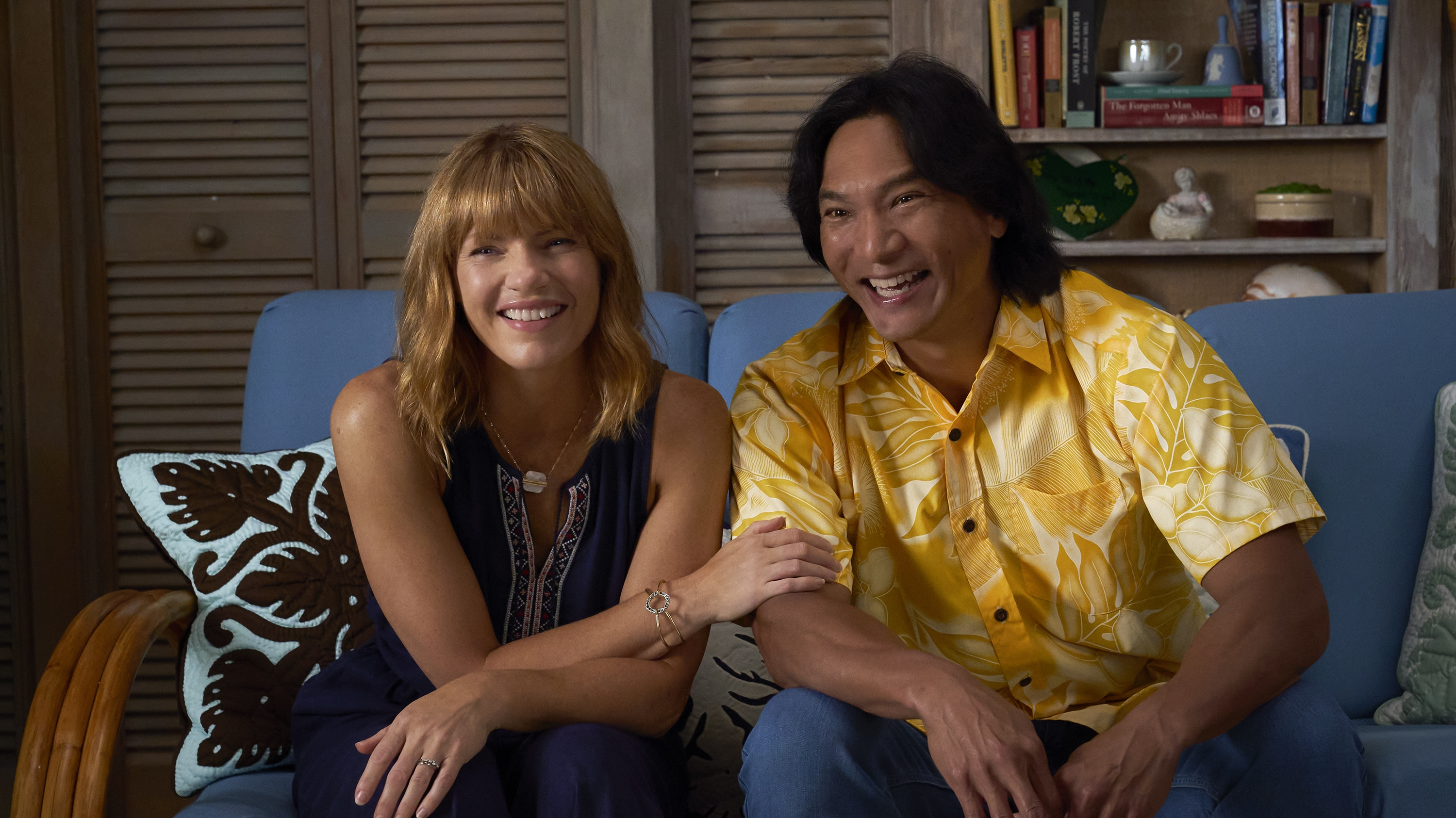 """DOOGIE KAMEALOHA, M.D. - """"License to Not Drive"""" - Yearning for freedom, Lahela defies Clara and takes the family car without permission. (Disney/Karen Neal) KATHLEEN ROSE PERKINS, JASON SCOTT LEE"""