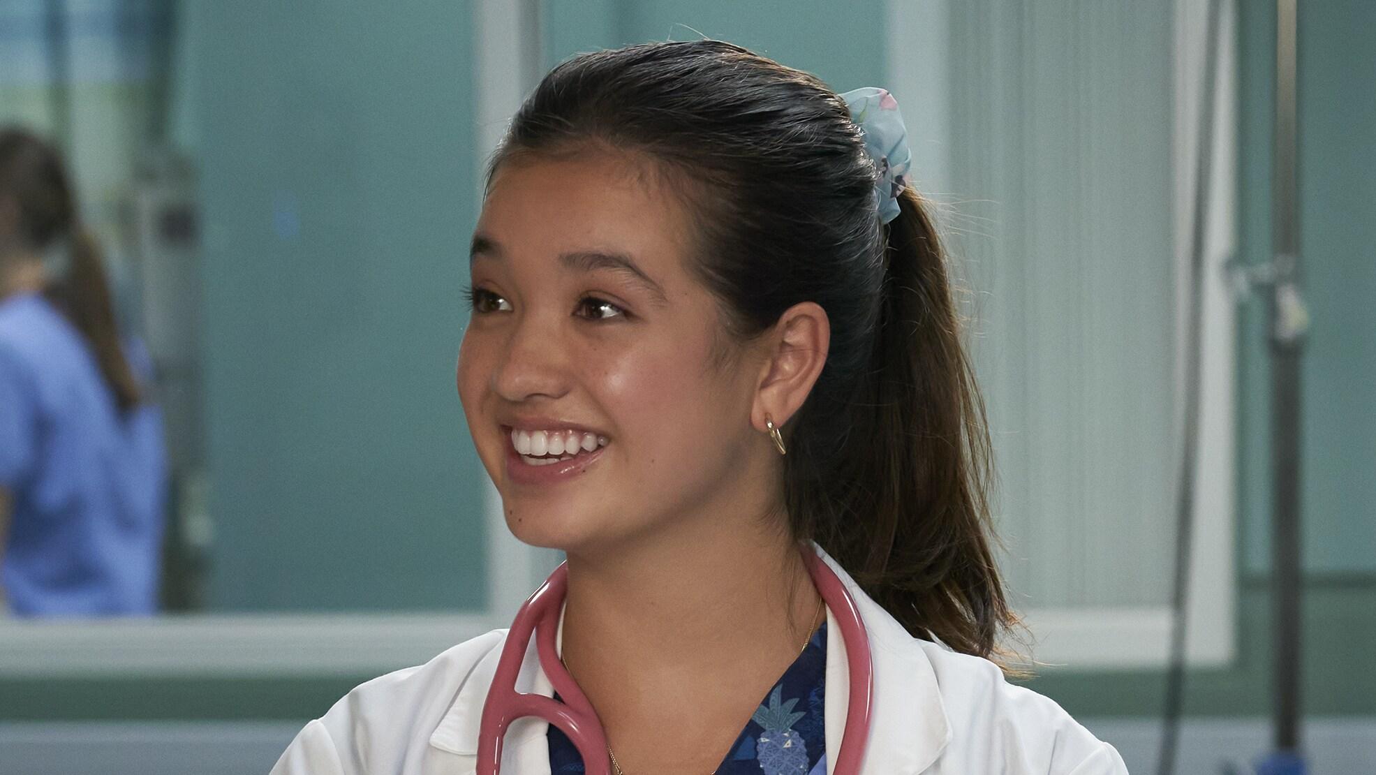 "Peyton Elizabeth Lee as ""Lahela 'Doogie' Kamealoha"""
