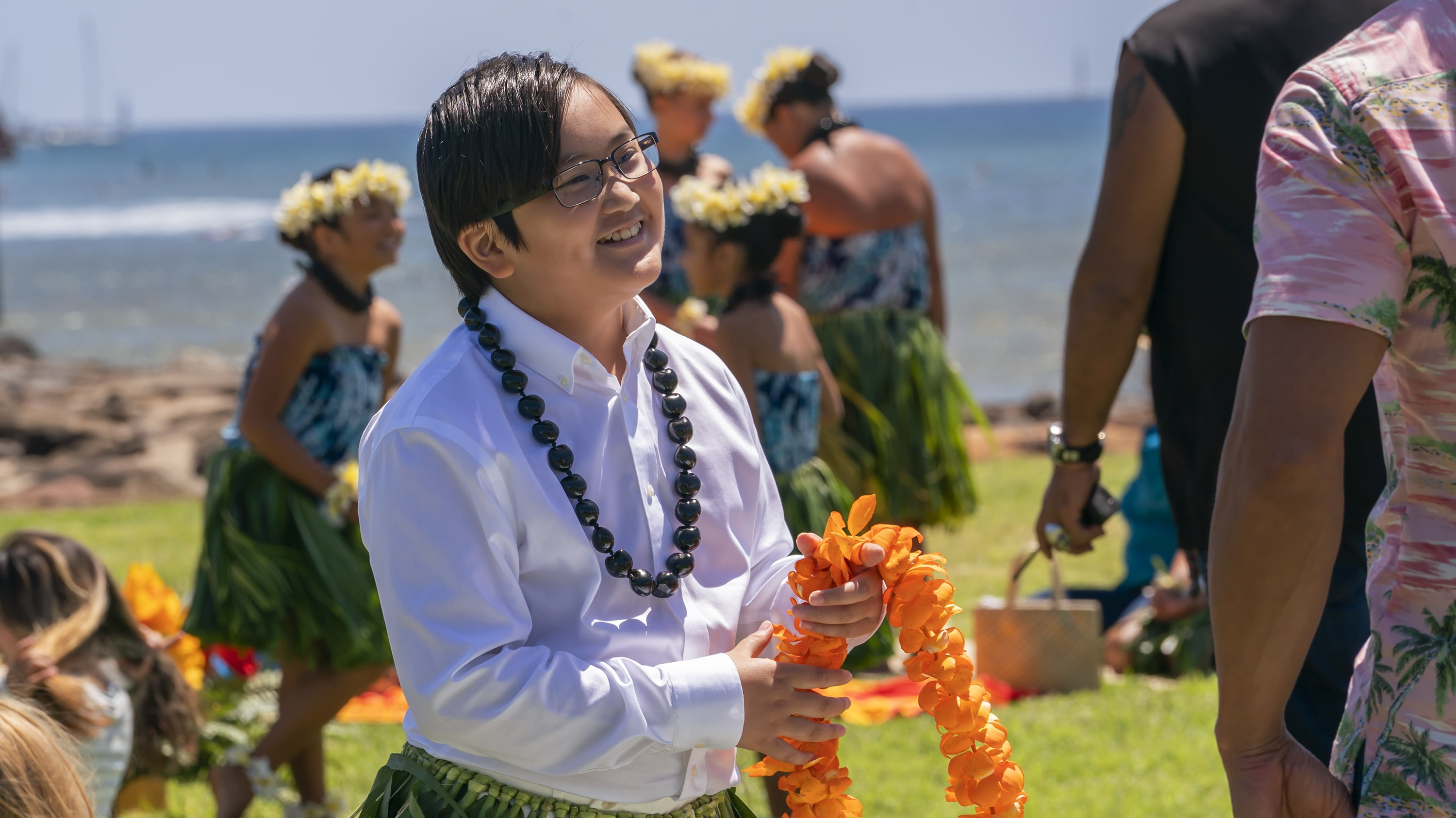 """DOOGIE KAMEALOHA, M.D. - """"License to Not Drive"""" - Yearning for freedom, Lahela defies Clara and takes the family car without permission. (Disney/Karen Neal) WES TIAN"""
